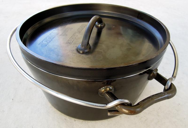 ユニフレームのダッチオーブン