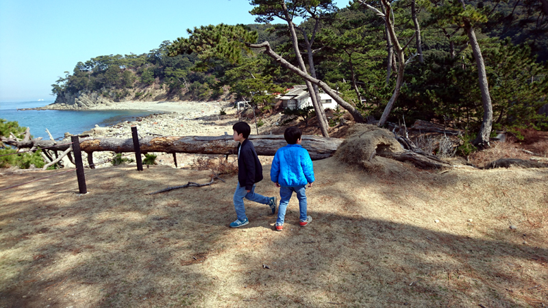 友が島を散策